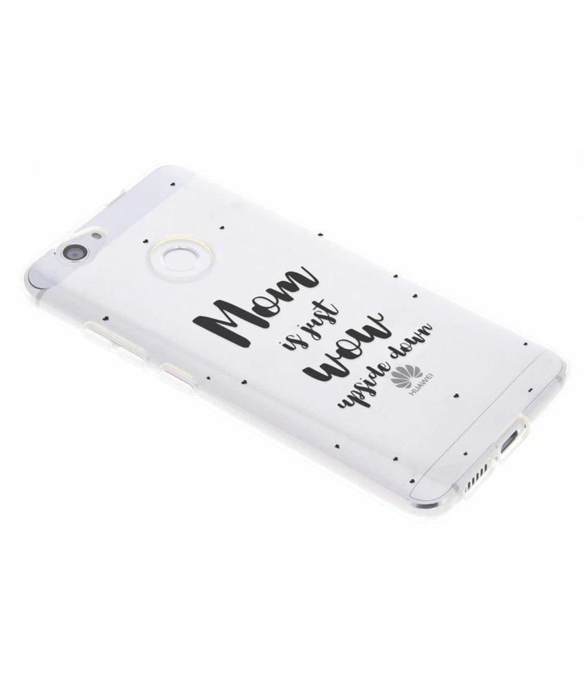 Quote design TPU hoesje Huawei Nova