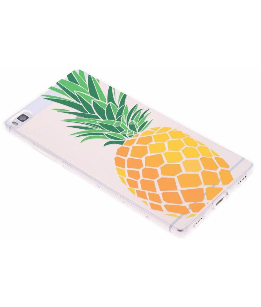 Transparant fruit design TPU hoesje Huawei P8