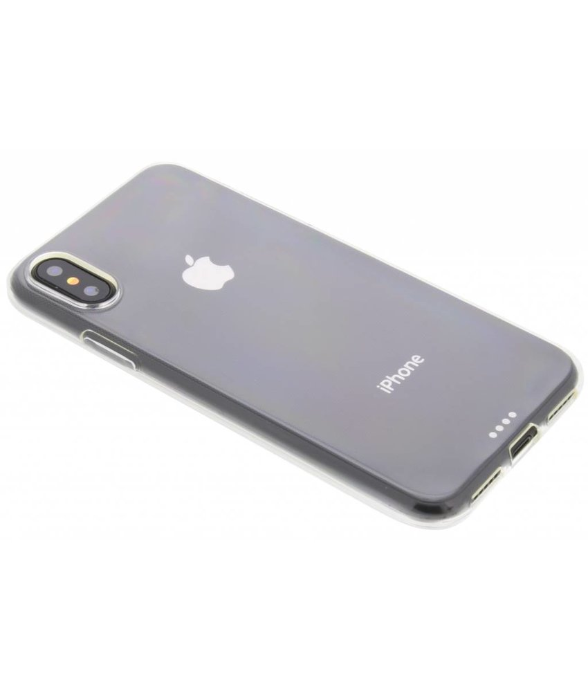 Transparant gel case iPhone X