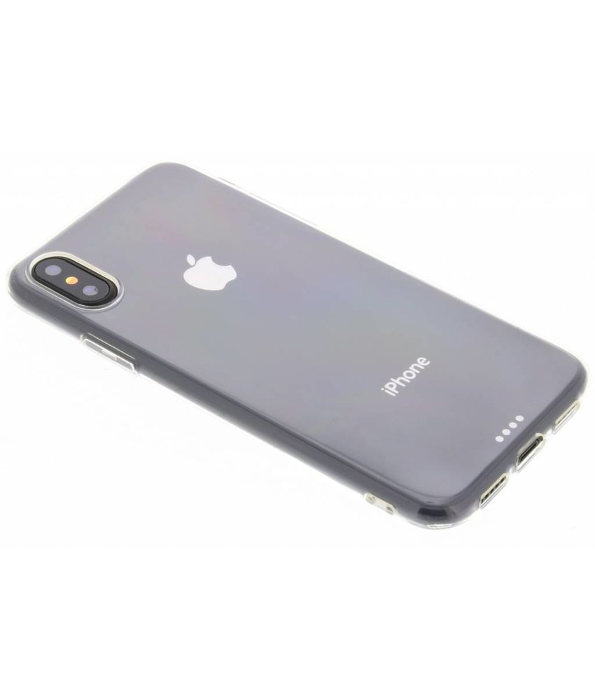 Ultra thin transparant TPU hoesje iPhone Xs / X