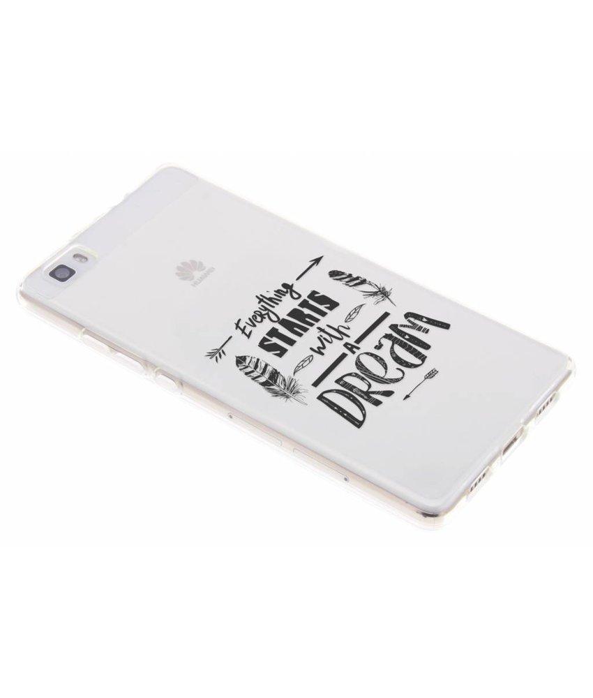 Dreams Quote TPU hoesje Huawei P8 Lite