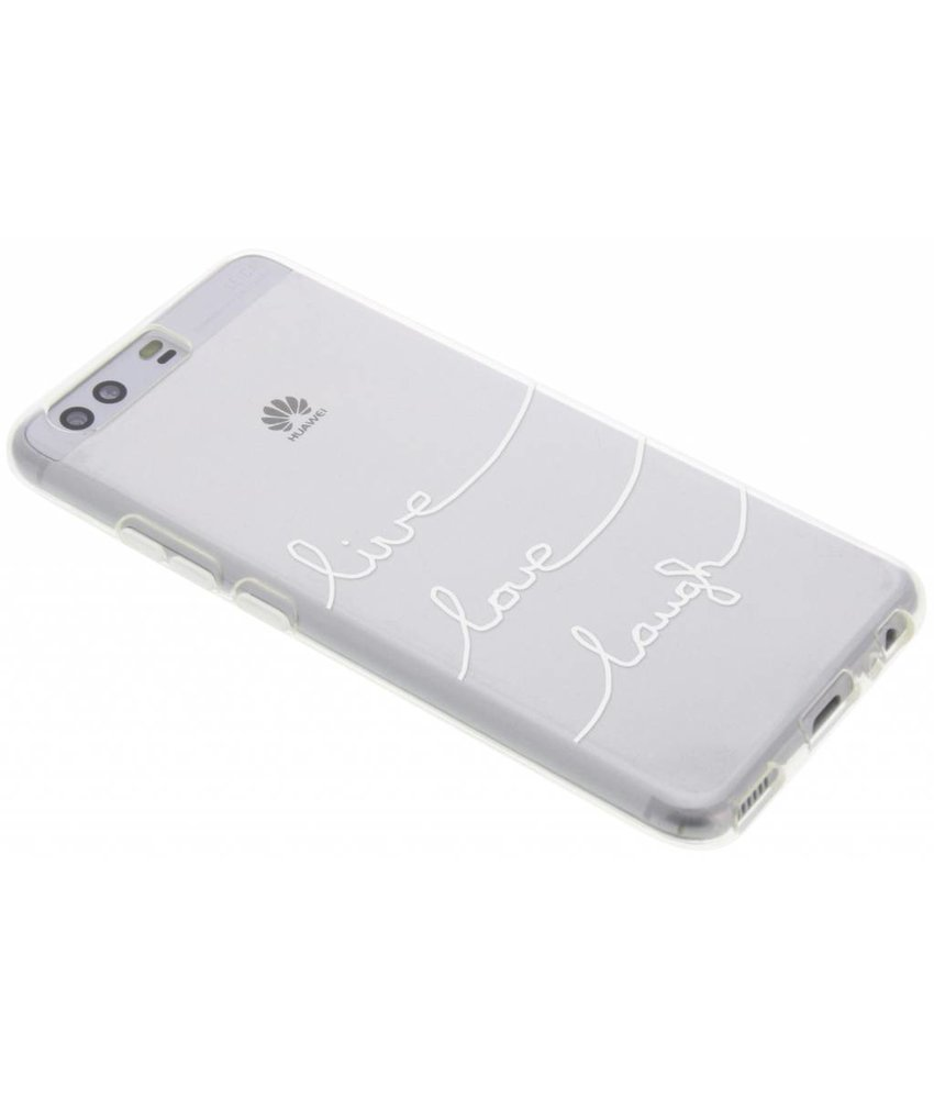 Quote design TPU hoesje Huawei P10