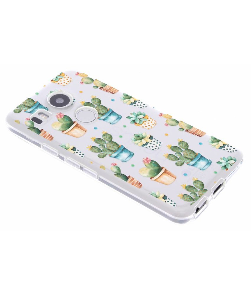 Cactus design TPU hoesje LG Nexus 5X