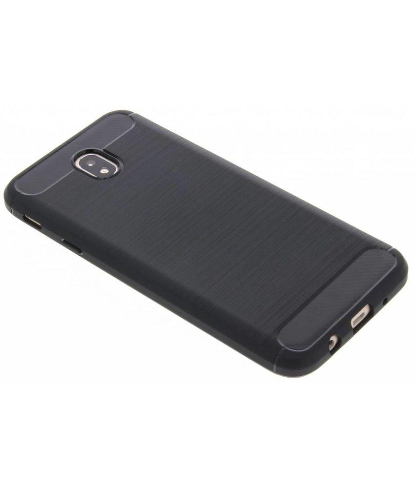 Zwart Brushed TPU case Samsung Galaxy J7 (2017)