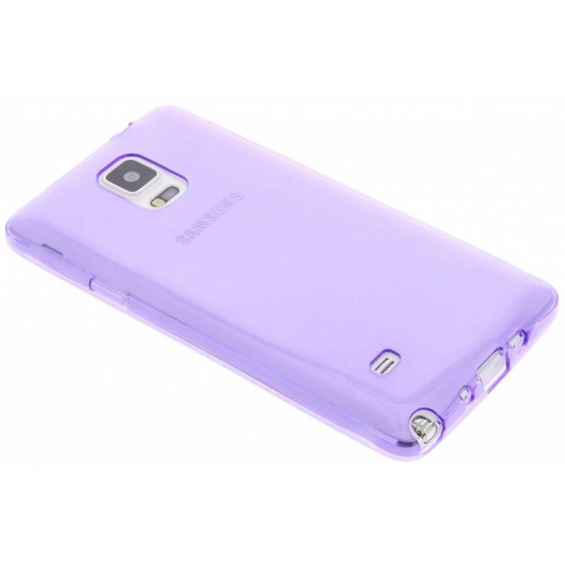 Vin Rouge Verre Transparent Coque Tpu Samsung Galaxy Note 4 VozxGV