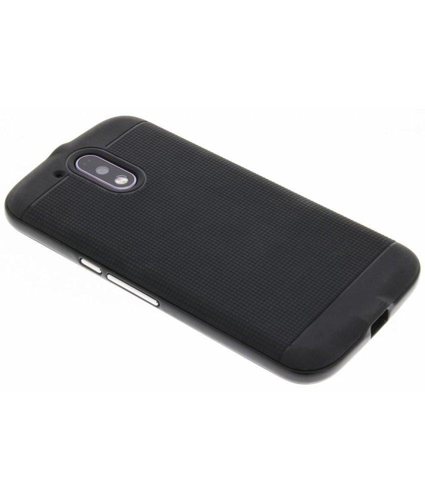 Zwart TPU Protect case Motorola Moto G4 (Plus)