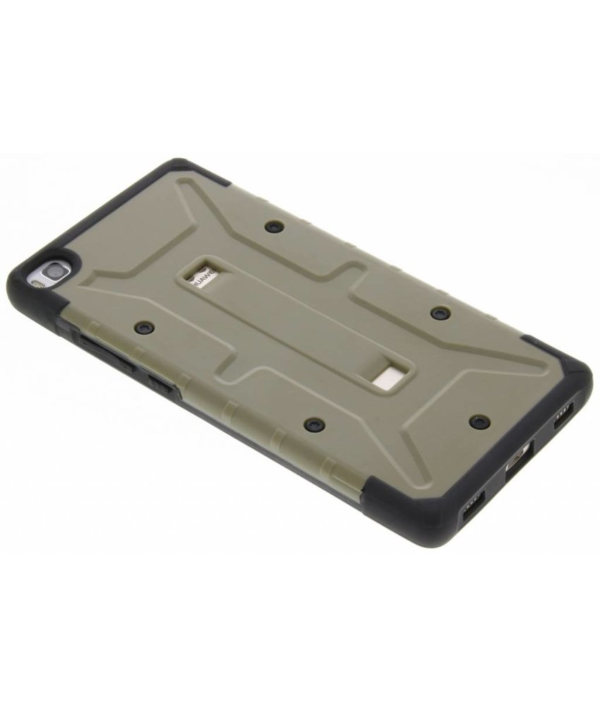 Groen Xtreme defender hardcase Huawei P8