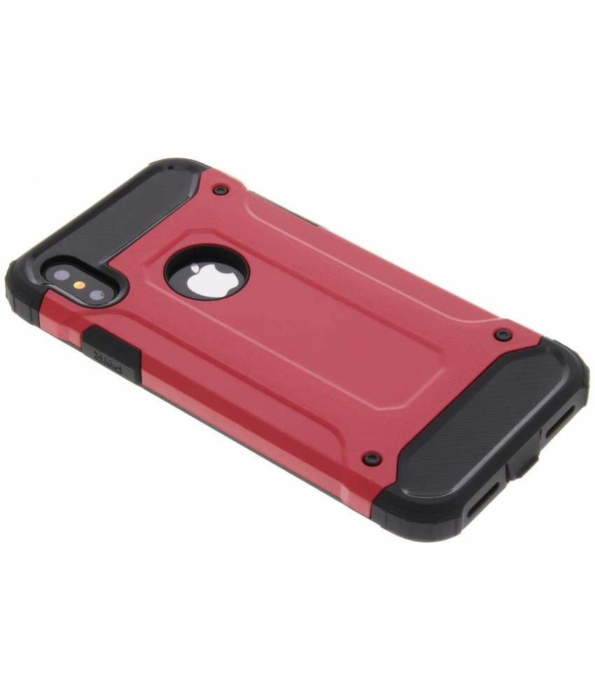 Rood Rugged Xtreme Case iPhone X
