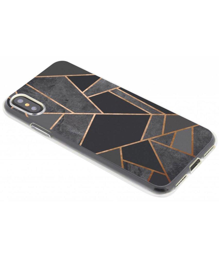 Design TPU hoesje iPhone Xs / X