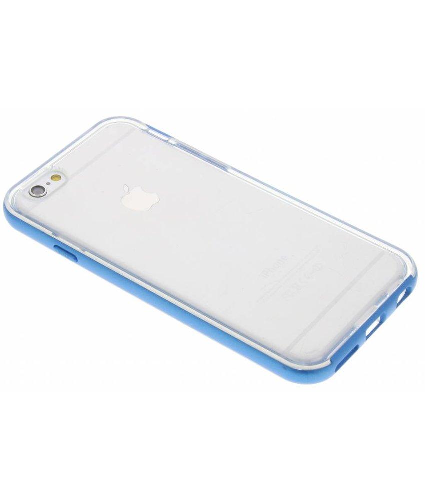 Blauw bumper TPU case iPhone 6 / 6s