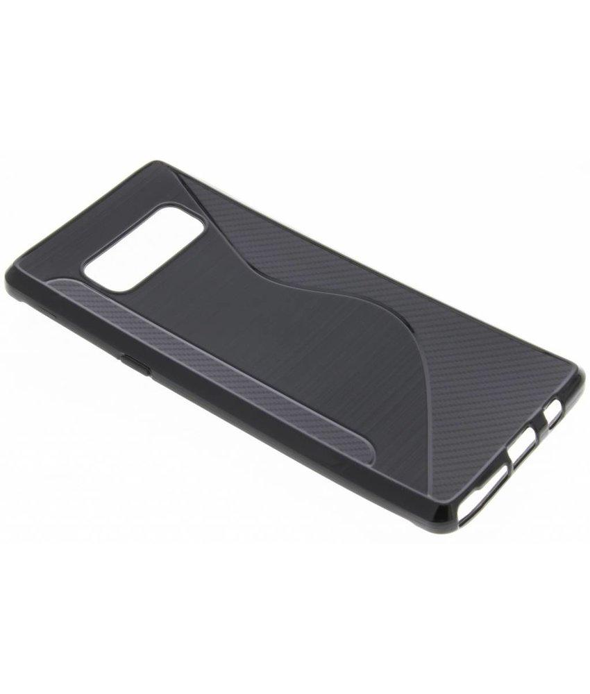Zwart S-line TPU hoesje Samsung Galaxy Note 8
