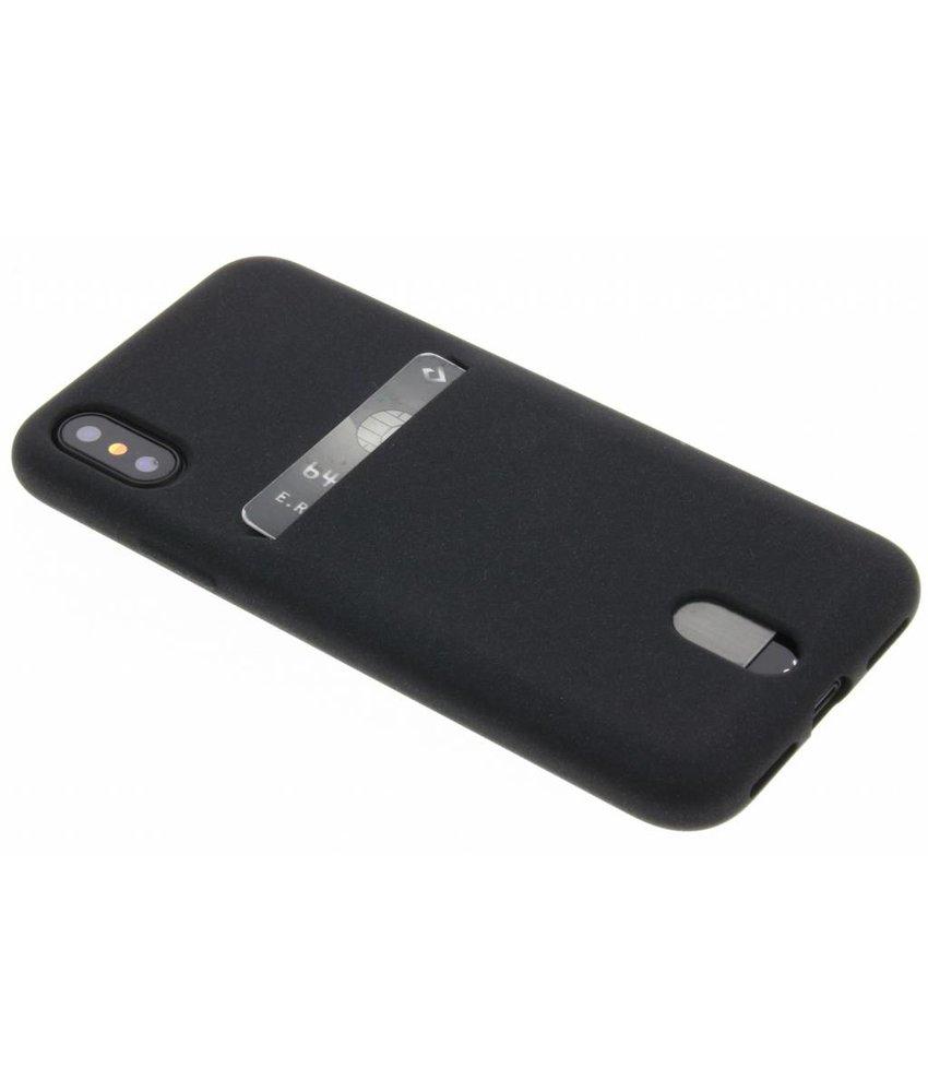 TPU siliconen card case iPhone Xs / X