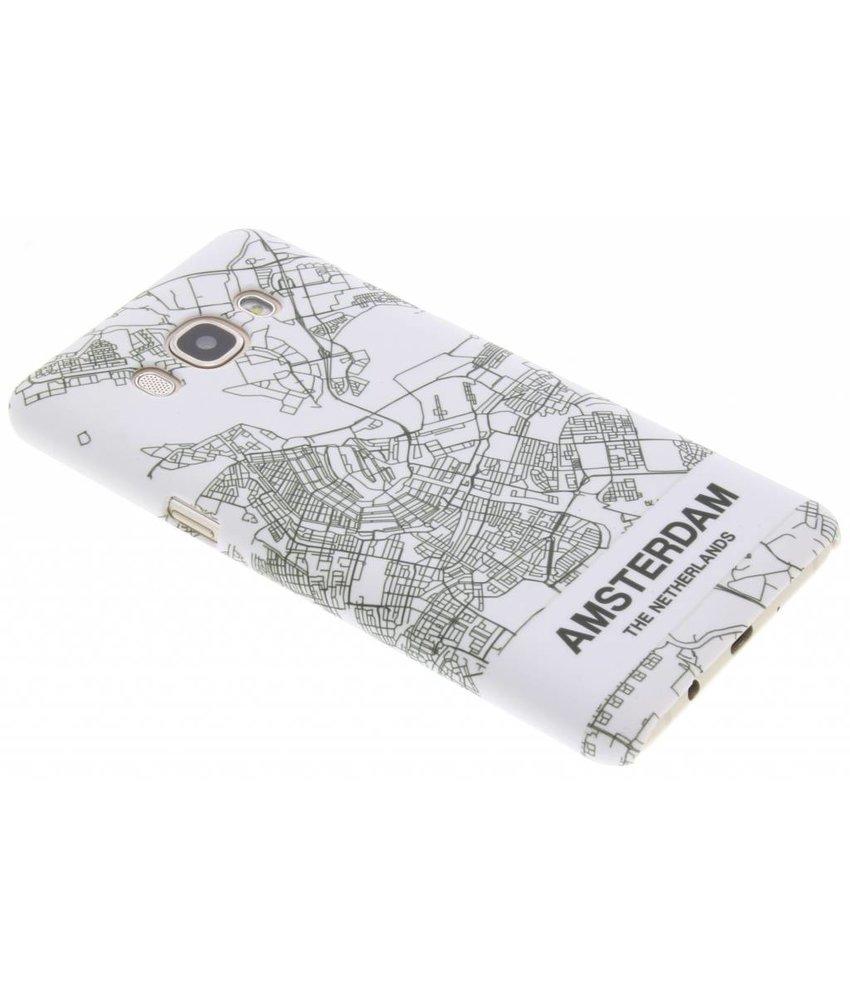 Citymap design hardcase hoesje Samsung Galaxy J5 (2016)