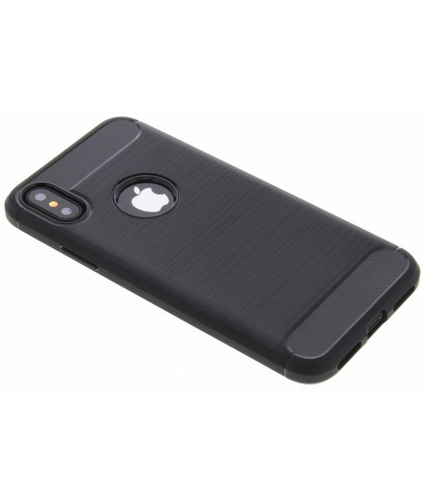 Brushed TPU case iPhone Xs / X