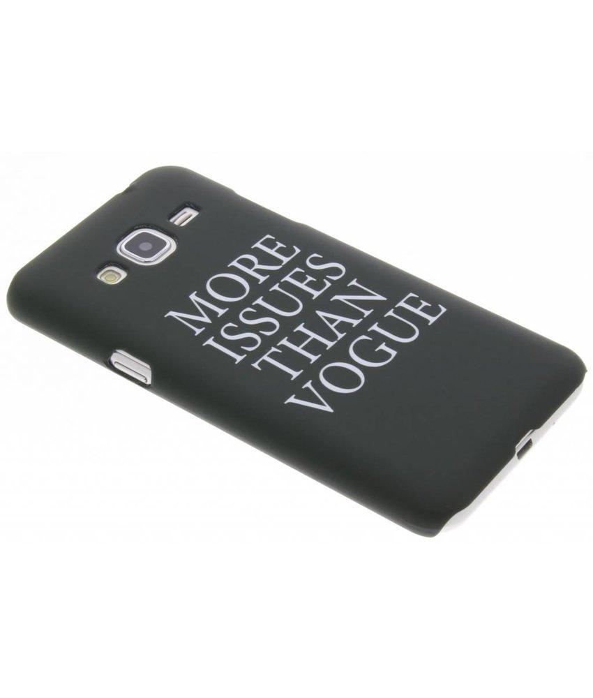Quote design hardcase hoesje Samsung Galaxy J3 / J3 (2016)
