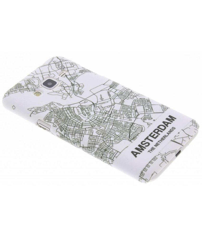 Citymap design hardcase hoesje Samsung Galaxy J3 / J3 (2016)