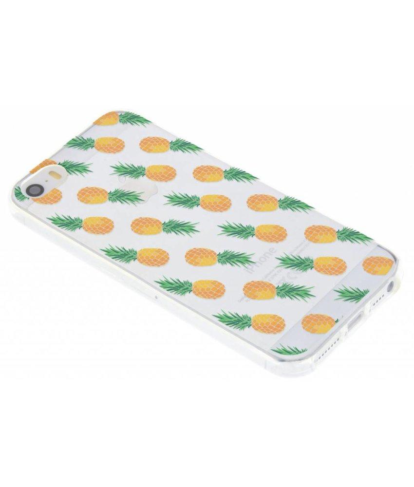Transparant fruit design TPU hoesje iPhone 5 / 5s / SE