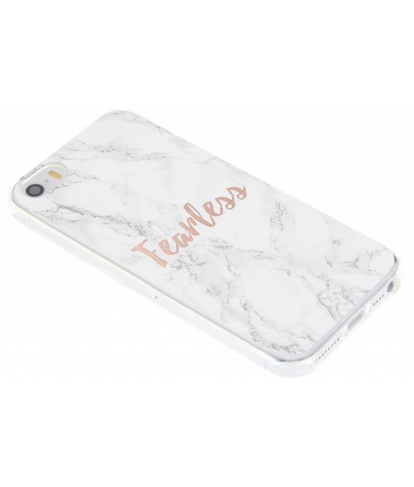 Quote design TPU hoesje iPhone 5 / 5s / SE