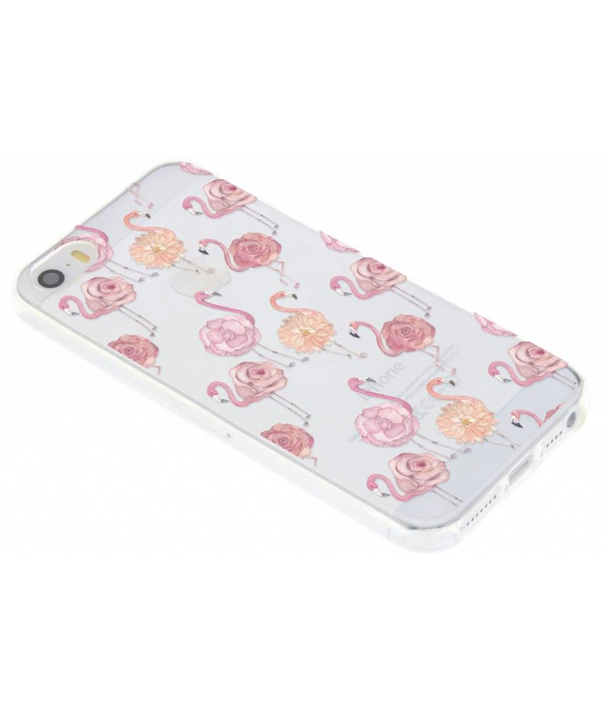Dieren design TPU hoesje iPhone 5 / 5s / SE