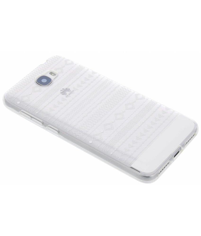 Transparant festival TPU hoesje Huawei Y5 2 / Y6 2 Compact