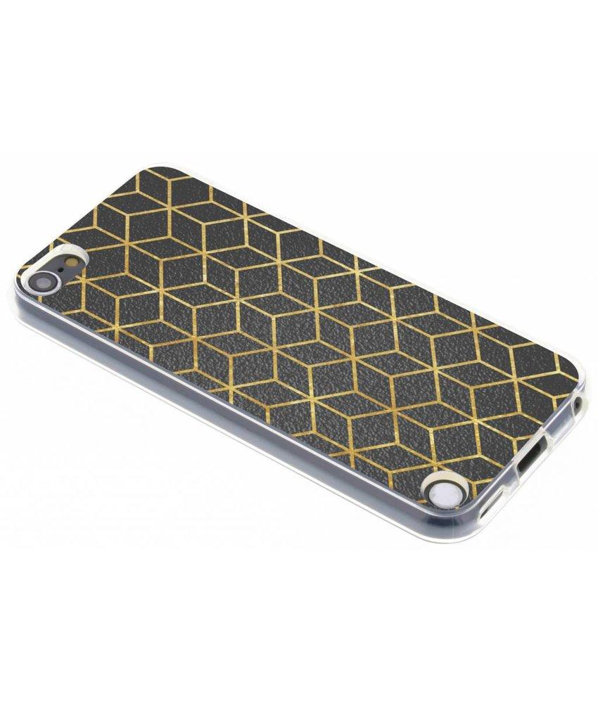Cubes design TPU hoesje iPod 5g / 6