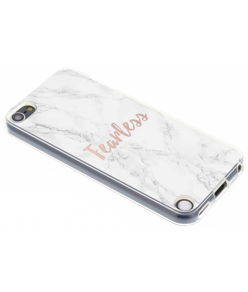 Quote design TPU hoesje iPod Touch 5g / 6