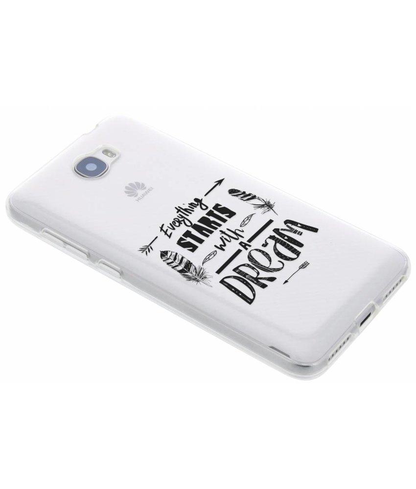 Dreams Quote TPU hoesje Huawei Y5 2 / Y6 2 Compact