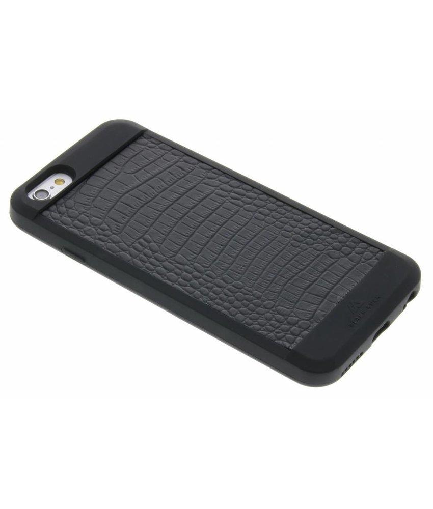 Black Rock Zwart Material Croco Cover iPhone 6 / 6s