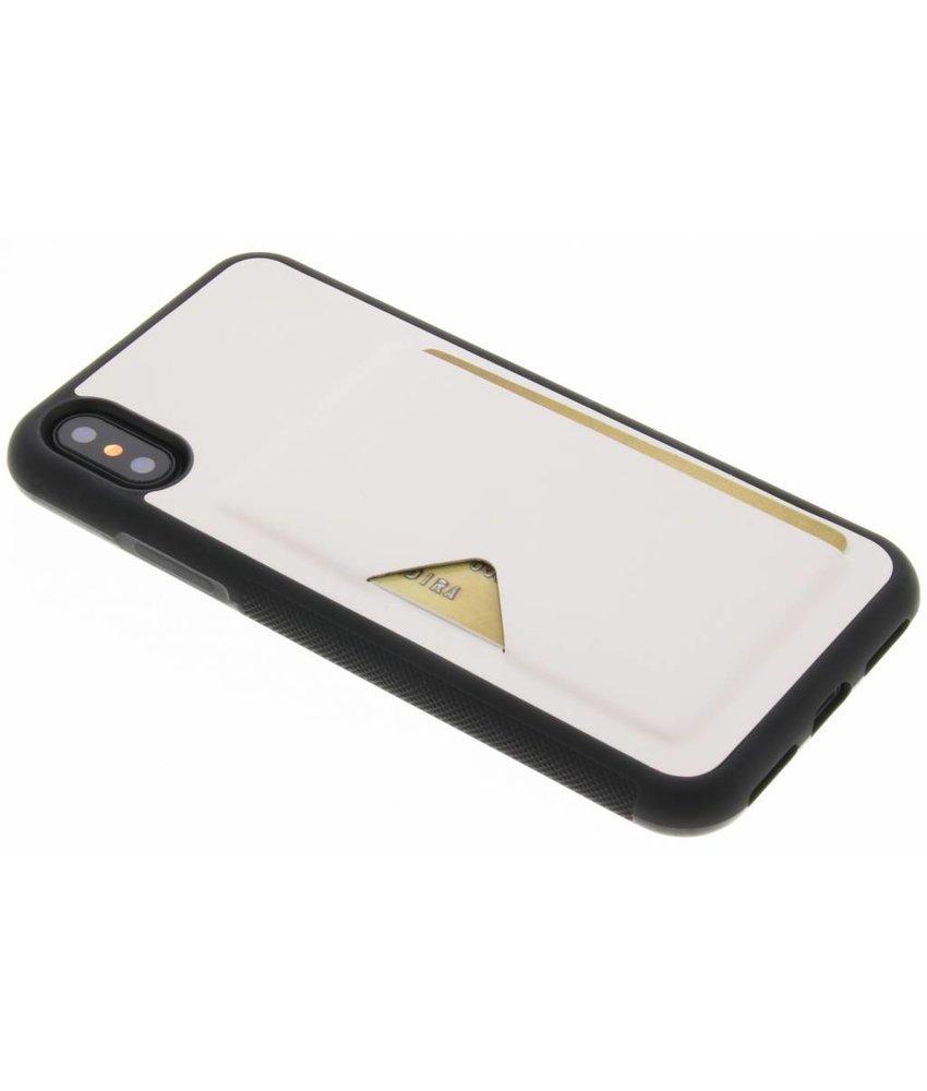 Dux Ducis Wit Cardslot Hardcase iPhone X
