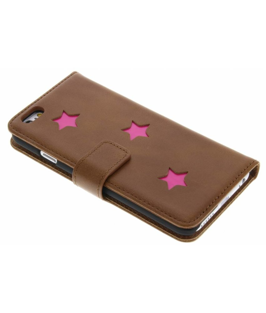 Fabienne Chapot Pink Reversed Star Booktype iPhone 6 / 6s