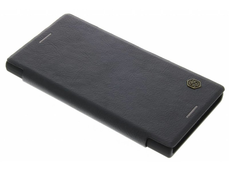 Qin Smart Type De Livre En Cuir Pour Sony Xperia Xz / Xzs - Brown bndXeCohUD