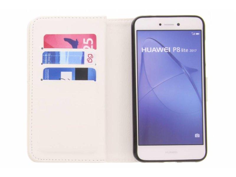 Huawei P8 Lite (2017) hoesje - Smile design TPU portemonnee