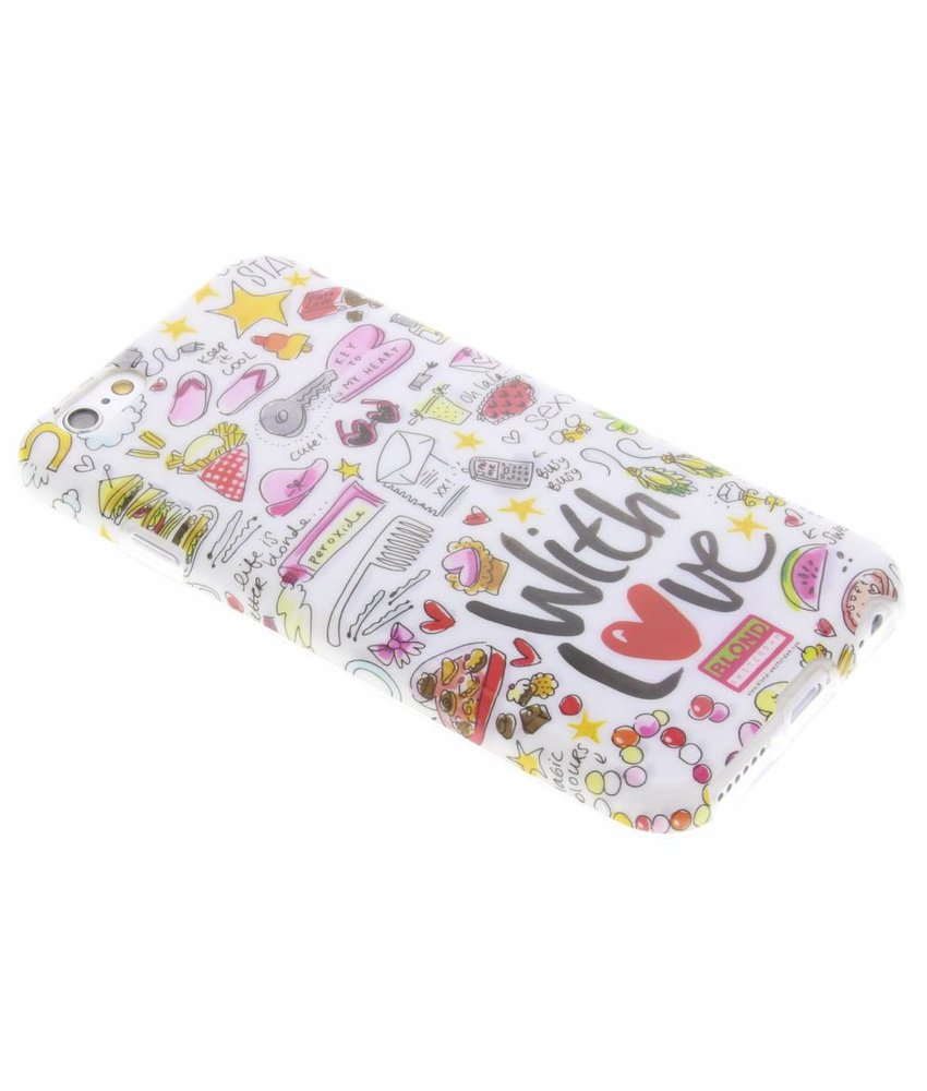 Blond Amsterdam With Love Softcase iPhone 6 / 6s