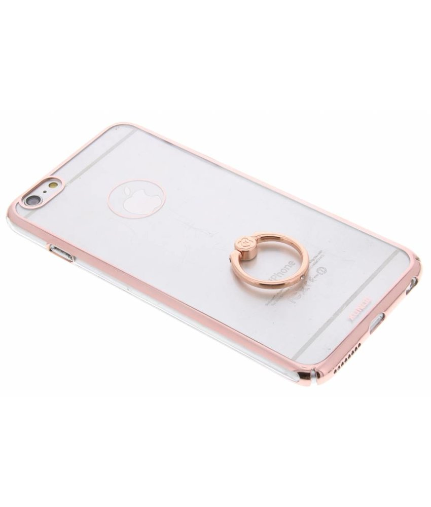 Transparant hardcase hoesje met ring iPhone 6 / 6s