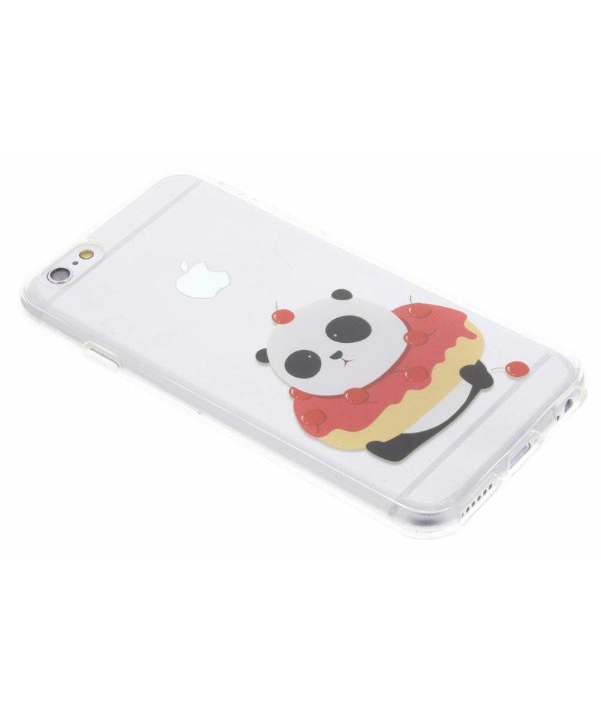 Panda design TPU hoesje iPhone 6 / 6s