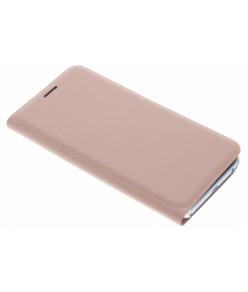 Rosé goud luxe slim booktype hoes Samsung Galaxy J3 (2017)