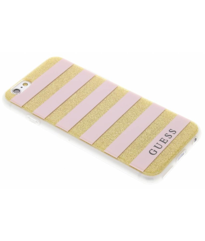 Guess Stripes Gel Case iPhone 6 / 6s