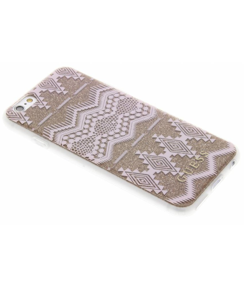 Guess Tribal Gel Case iPhone 6 / 6s - Taupe