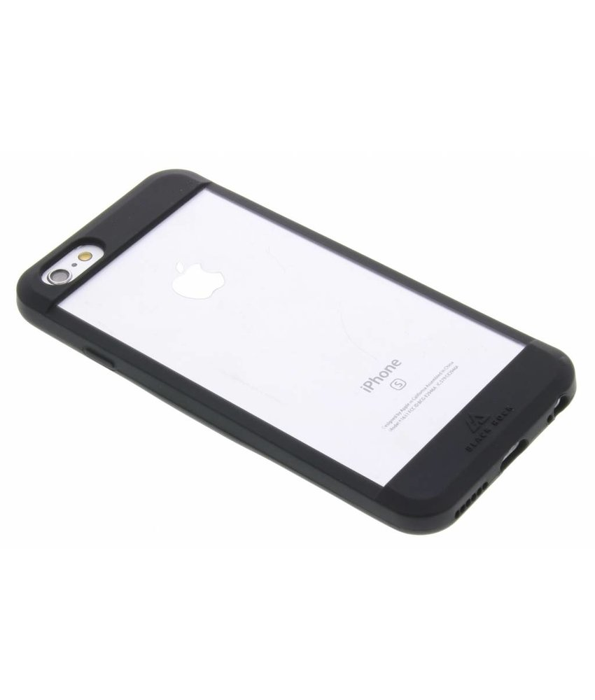 Black Rock Material Clear Case iPhone 6 / 6s - Black
