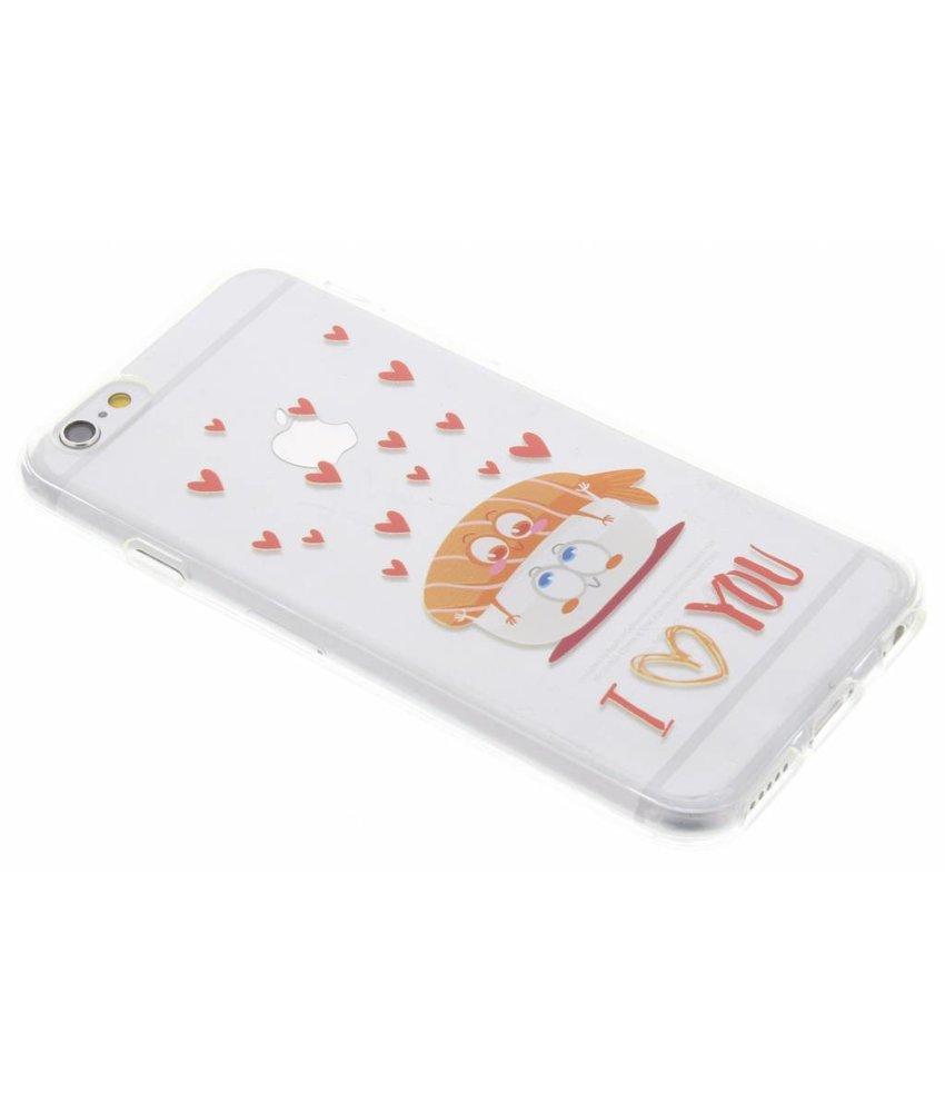 Sushi Love TPU hoesje iPhone 6 / 6s