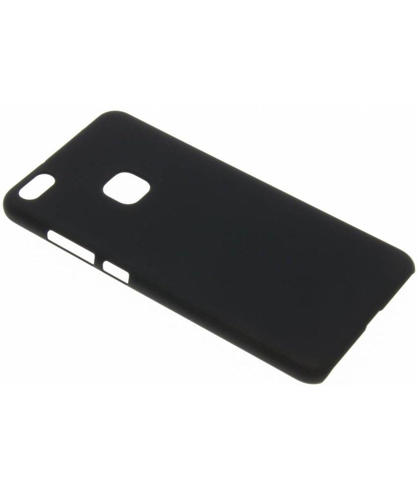 Zwart effen hardcase hoesje Huawei P10 Lite