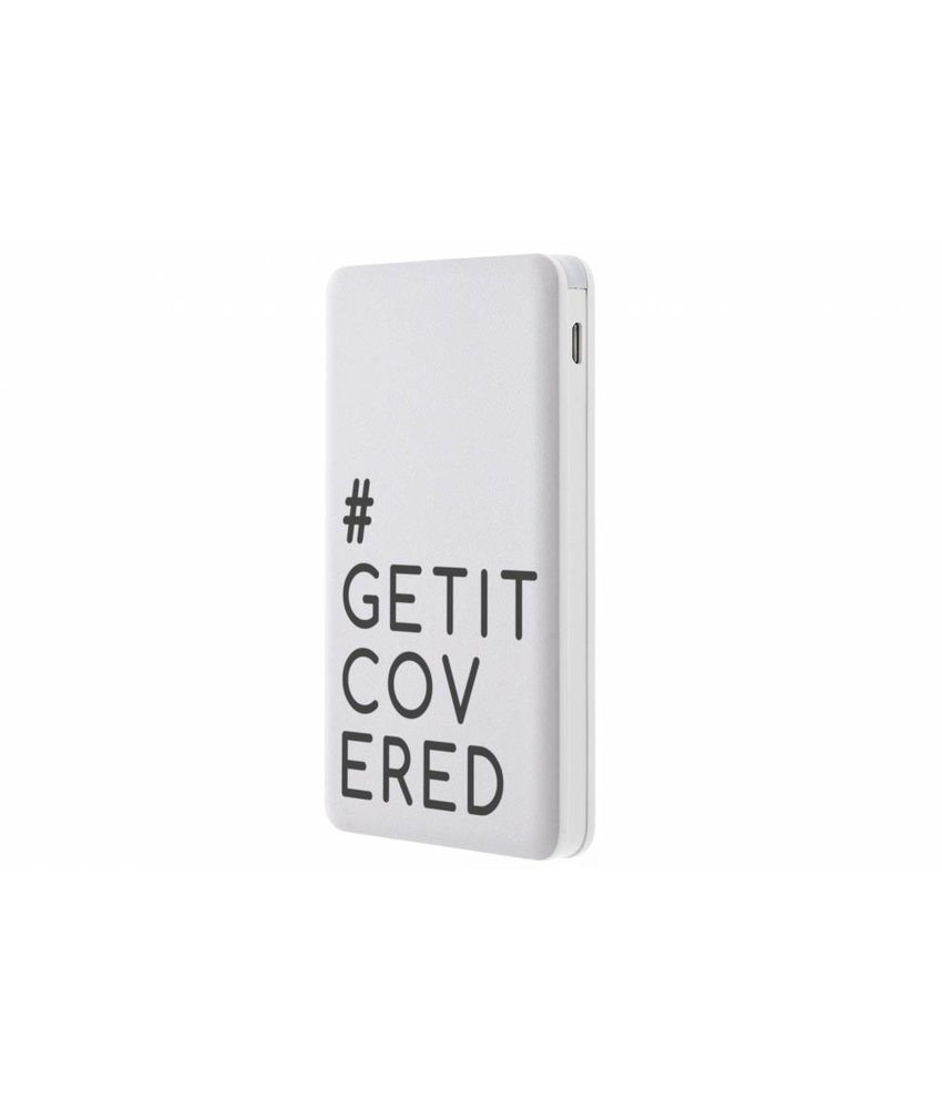 #GETITCOVERED Powerbank 5000 mAh