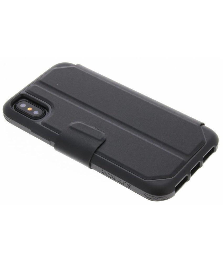 Griffin Survivor Strong Wallet Case iPhone X