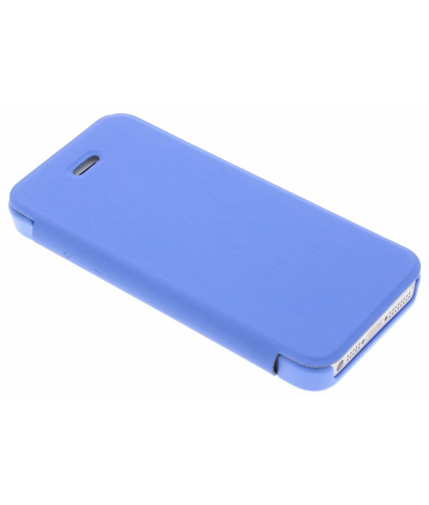 Be Hello Blauw Book Case iPhone 5 / 5s / SE