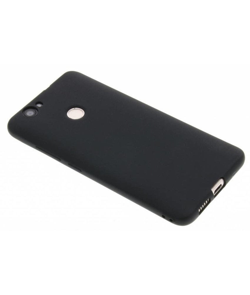 Zwart Color TPU hoesje Huawei Nova
