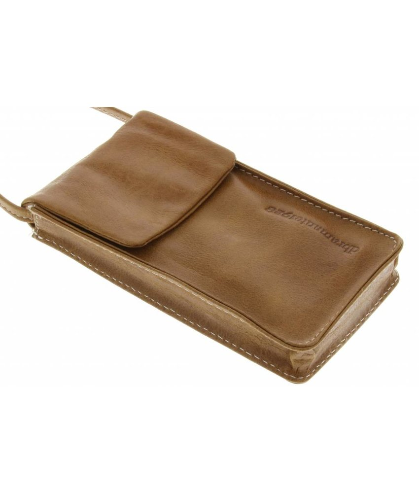 dbramante1928 Leather Lanyard Case - Golden Tan