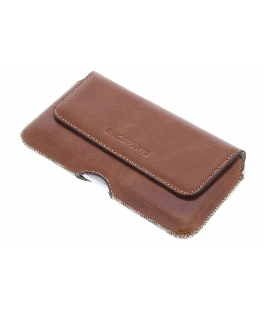 Mobiparts Oaked Cognac Excellent Belt Case - Size 5XL