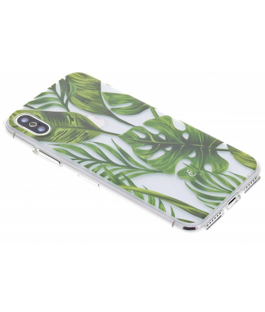 Fabienne Chapot Monstera Leafs Softcase iPhone X