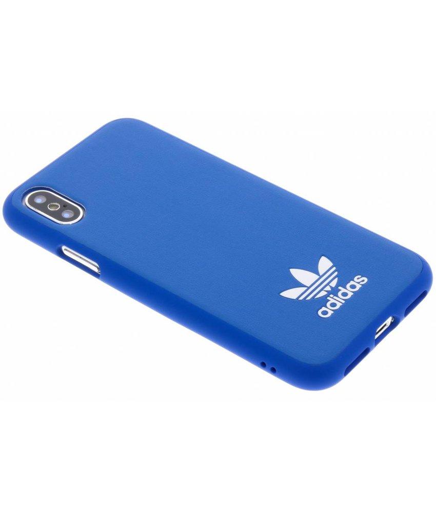 adidas Originals Blauw Basic Logo Case iPhone X