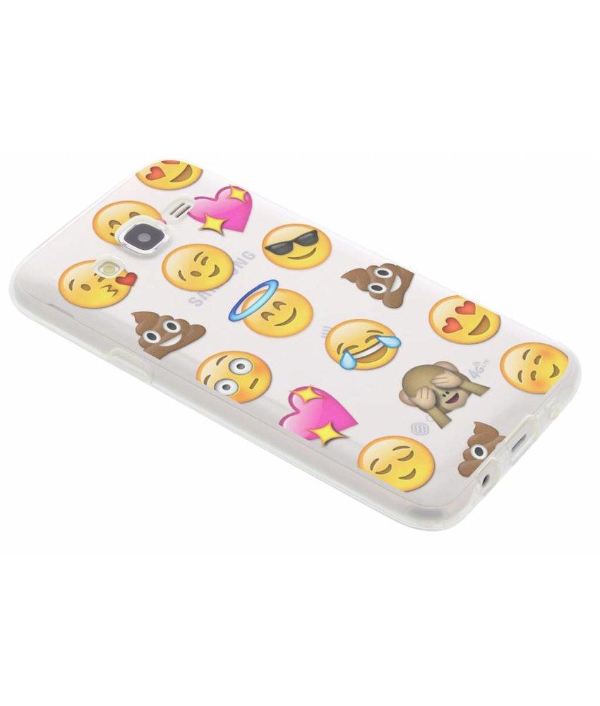 Emoji design TPU hoesje Samsung Galaxy J5